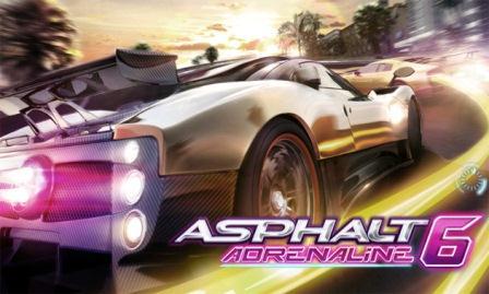 Asphalt 6 apk data download.